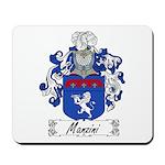 Manzini Family Crest Mousepad