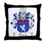 Manzini Family Crest Throw Pillow