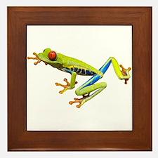 Red-Eyed Tree Frog Framed Tile