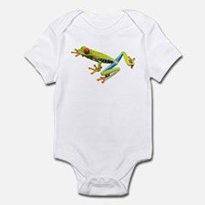 Red-Eyed Tree Frog Infant Bodysuit