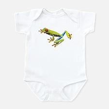 Red-Eyed Tree Frog Infant Bodysuit