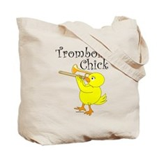 Trombonist Chick Tote Bag