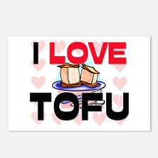 I Love Tofu Postcards (Package of 8)
