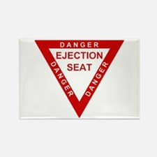 EJECTION SEAT Rectangle Magnet (10 pack)