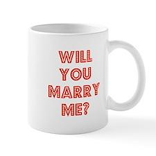 Retro - Will you marry me? Mug