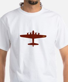 B-17 with Vintage Star Shirt