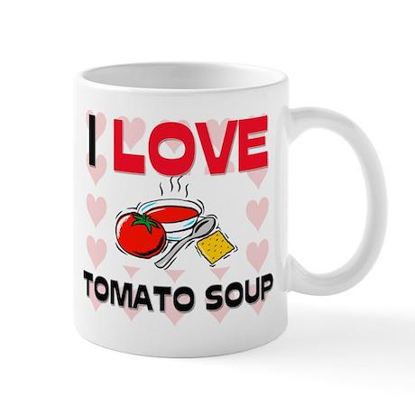 I Love Tomato Soup Mug