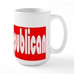 Republican Elephant Large Mug
