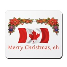 Canada Merry Christmas, eh 2 Mousepad