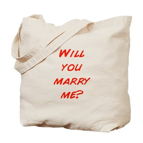 Comic - Will you marry me? Tote Bag