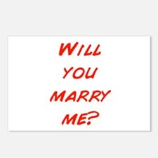 Comic - Will you marry me? Postcards (Package of 8