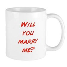 Comic - Will you marry me? Mug