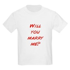 Comic - Will you marry me? T-Shirt