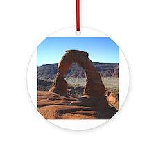 Delicate Arch 01 - Ornament (Round)