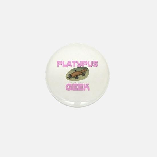 Platypus Geek Mini Button