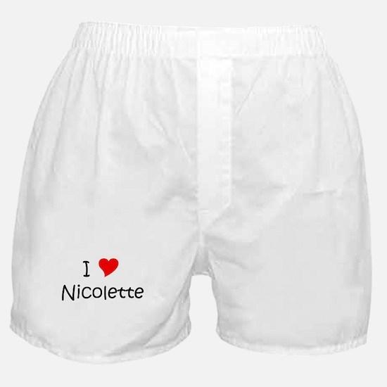 Unique Nicolette Boxer Shorts