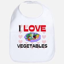 I Love Vegetables Bib