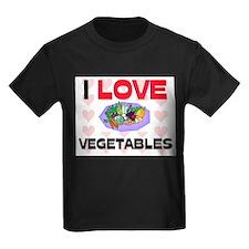 I Love Vegetables T