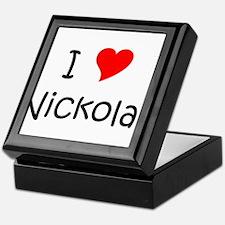 Unique Nickolas Keepsake Box