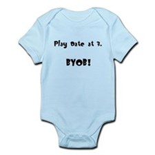 Play Date at 3 Infant Onesie