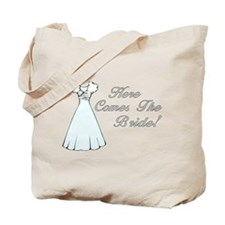 Here Comes The Bride (Wedding Dress) Tote Bag