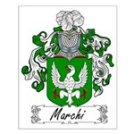 Marchi Family Crest Small Poster