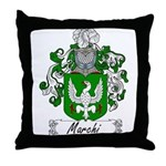 Marchi Family Crest Throw Pillow