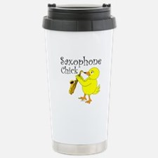 Saxophone Chick Travel Mug