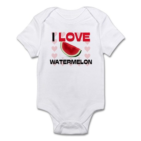 I Love Watermelon Infant Bodysuit