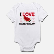 I Love Watermelon Infant Bodysuit