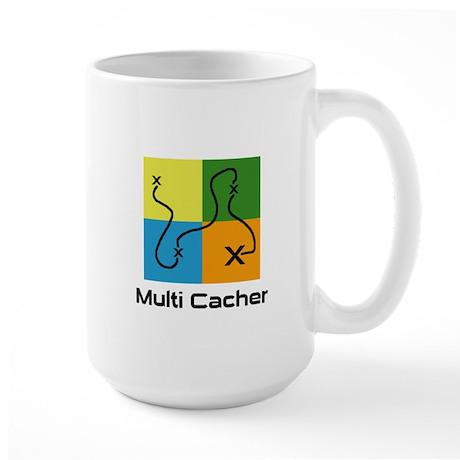 Multi Cacher Large Mug