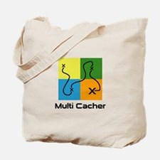 Multi Cacher Tote Bag