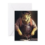 Scottish lion Greeting Cards (10 Pack)