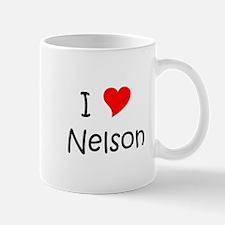 Unique I heart nelson Mug