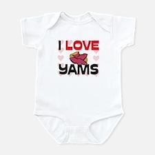 I Love Yams Infant Bodysuit