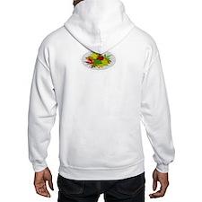 Fall Folige Map Hoodie Sweatshirt