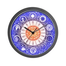 Sephirot Mandala Wall Clock