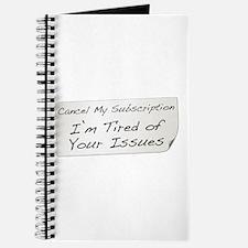 Cancel My Subscription Journal