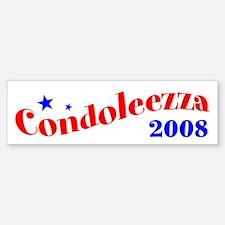 Condi Rice, President, 2008 Bumper Sticker-2