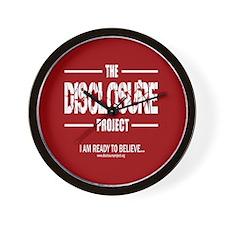 Disclosure Wall Clock