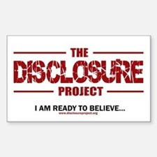 Disclosure Rectangle Decal