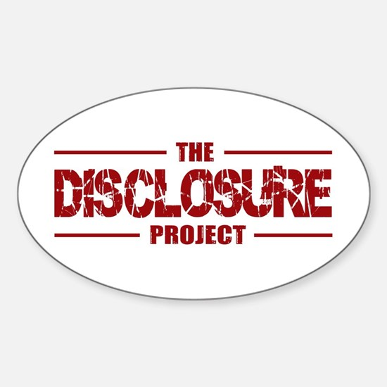 Disclosure Oval Decal