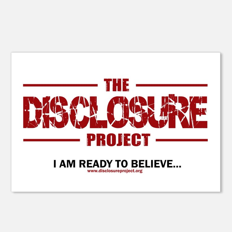 Disclosure Postcards (Package of 8)