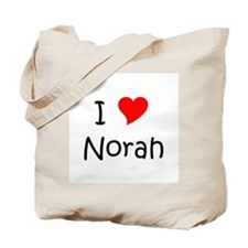 Cool Love norah Tote Bag