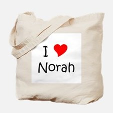 Cute Norah Tote Bag