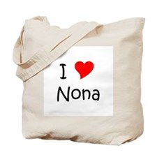 Cute I heart Tote Bag