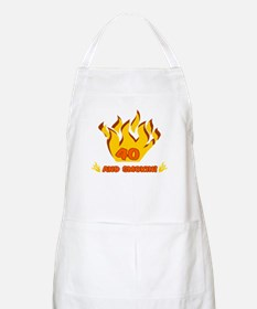 40 Years Old And Smokin' BBQ Apron