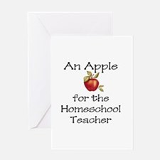 An Apple Greeting Card