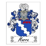 Marra Family Crest Small Poster