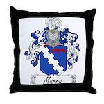 Marra Family Crest Throw Pillow